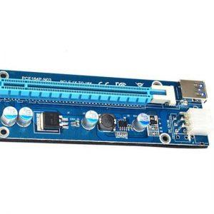 رایزر کارت سرور 6 پین PCIE 1X to PCIE 16X
