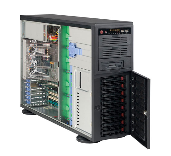 Case Server CSE-743TQ-865B-SQ