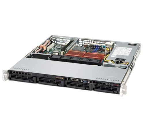 Case Server Supermicro CSE-813MTQ-600CB